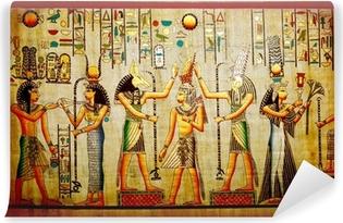 Vinylová Fototapeta Papyrus. Starý přírodní papír z Egypta