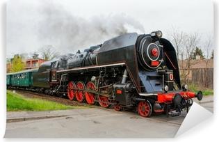 Vinylová Fototapeta Parní vlak
