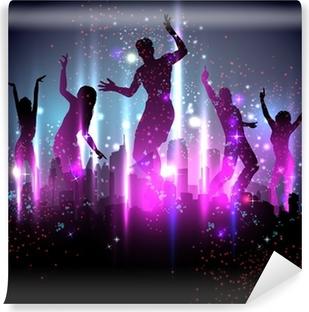 Vinylová Fototapeta Party pozadí ilustrace