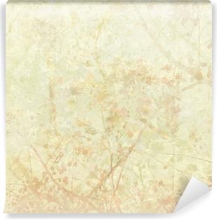 Vinylová Fototapeta Pastel Tangled Blossom Art on Paper