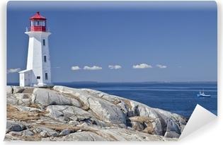 Vinylová Fototapeta Peggy Cove maják, Nova Scotia, Kanada.