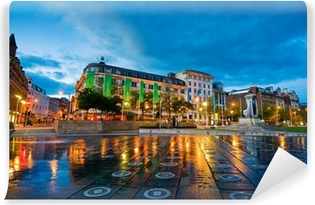 Fototapeta winylowa Piccadilly square manchester