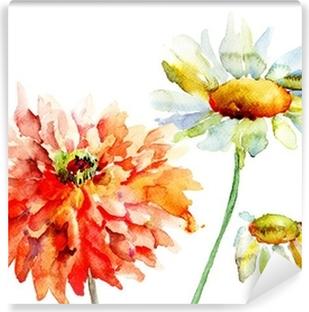 Fototapeta winylowa Piękne dekoracyjne kwiaty