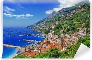 Fototapeta winylowa Piękne wybrzeże Amalfi, Włochy