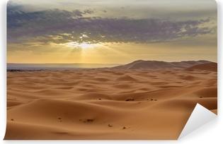 Vinylová fototapeta Písečné duny Erg Chebbi, Maroko