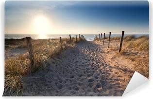 Vinylová Fototapeta Písek cesta do Severního moře pláž