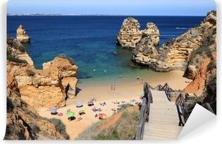 Vinylová Fototapeta Pláž na pobřeží Algarve, Lagos Portugalsko