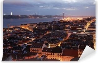 Vinylová Fototapeta Pohled na Lisabon