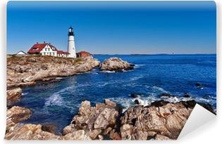 Vinylová Fototapeta Portland Head Lighthouse v Cape Elizabeth, Maine
