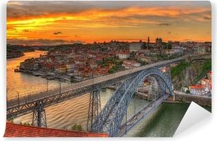 Vinylová Fototapeta Porto se Dom Luis most - Portugalsko