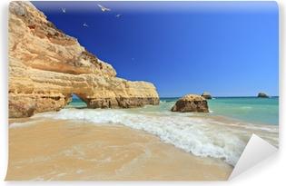 Vinylová Fototapeta Praia da Rocha beach v Portimao, Algarve, Portugalsko