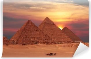 Vinylová Fototapeta Pyramida slunce