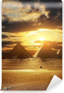 Vinylová Fototapeta Pyramidy v Gíze