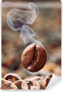Vinylová Fototapeta Qualmende Kaffeebohne
