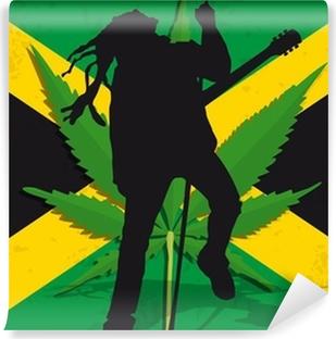 Vinylová Fototapeta Rasta Jamaïque