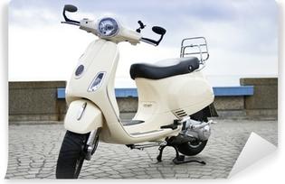 Vinylová Fototapeta Retro Style Motocykl