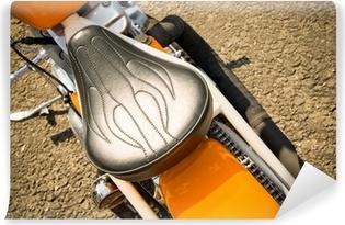 Vinylová Fototapeta Retro stylu Easy Rider detail motocyklu