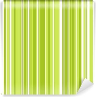 Vinylová Fototapeta Retro Zelené Stripes