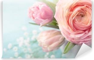 Fototapeta winylowa Różowe kwiaty