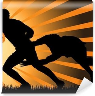 Vinylová Fototapeta Rugby akční hra