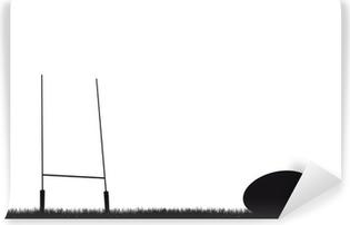 Vinylová Fototapeta Rugby pozadí