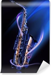 Fototapeta winylowa Saksofon