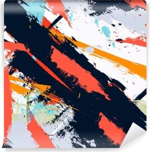 Fototapeta samoprzylepna Abstract Art grunge awaryjną bez szwu wzór