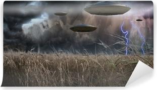 Fototapeta samoprzylepna Aliens Invade