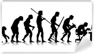 Fototapeta samoprzylepna Człowiek - ewolucja biznesu