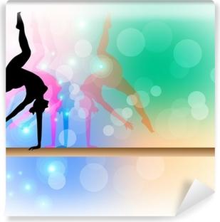 Fototapeta samoprzylepna Gimnastyka sportowa - Belka