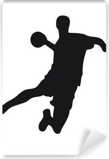 Fototapeta samoprzylepna Handballer