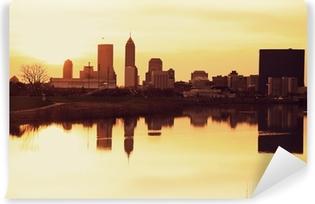 Fototapeta samoprzylepna Indianapolis o wschodzie słońca