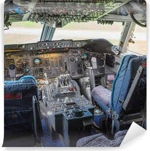 Fototapeta samoprzylepna Kokpit z jumbo jet