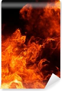 Fototapeta samoprzylepna Płomień blaze tekstury