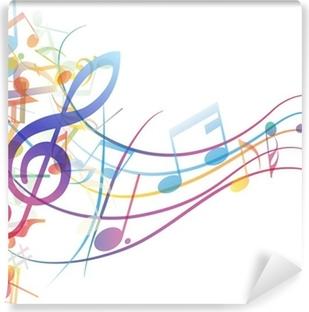 Fototapety Nuty - Motywy muzyczne • Pixers® - Żyjemy by zmieniać