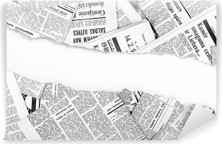 Fototapeta samoprzylepna Stare podarte gazety