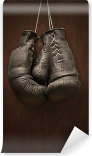 Fototapeta samoprzylepna Stare rękawice bokserskie