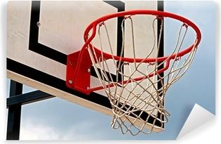 Fototapeta samoprzylepna Tablica do koszykówki z tablicą