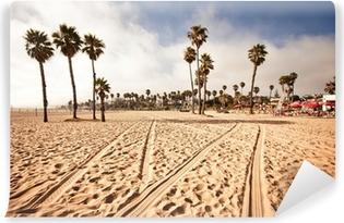 Vinylová Fototapeta Santa Monica Beach, Kalifornie (USA)