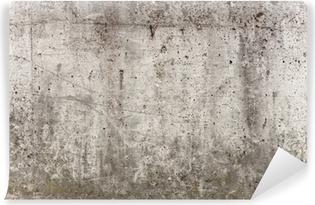 Vinylová Fototapeta Šedá betonová zeď na pozadí