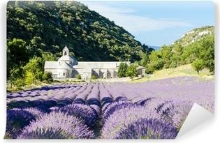 Vinylová Fototapeta Senanque opatství s levandulí pole, Provence, France