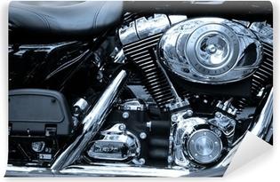 Fototapeta winylowa Skoncentruj się na legendy motocykli