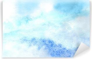 Vinylová Fototapeta Sky v akvarel
