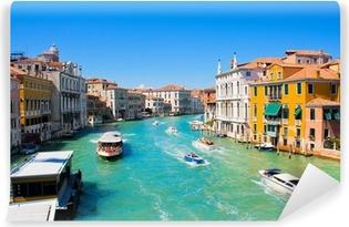 Vinylová fototapeta Slavný Canal Grande v Benátkách, Itálie