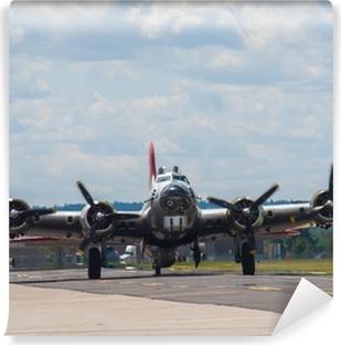 Fototapeta winylowa Śmigła danej II wojny światowej B17 bombowca
