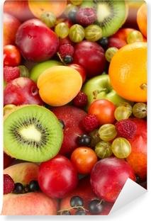 Vinylová Fototapeta Sortiment šťavnaté ovoce pozadí