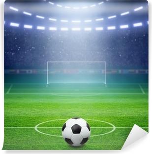 Fototapeta winylowa Stadion piłkarski