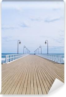 Fototapeta winylowa Stare molo, Gdynia, Polska