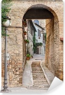 Vinylová Fototapeta Starobylé uličky v Bevagna, Itálie