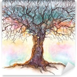 Vinylová Fototapeta Starý strom (řada C)